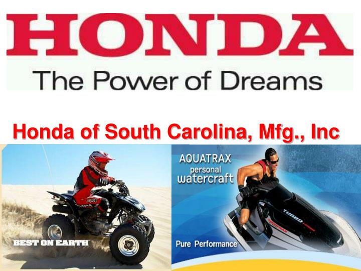 honda of south carolina mfg inc n.