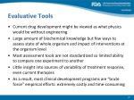 evaluative tools