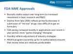 fda nme approvals