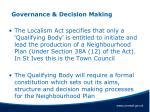 governance decision making