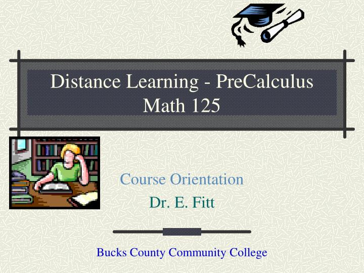 distance learning precalculus math 125 n.