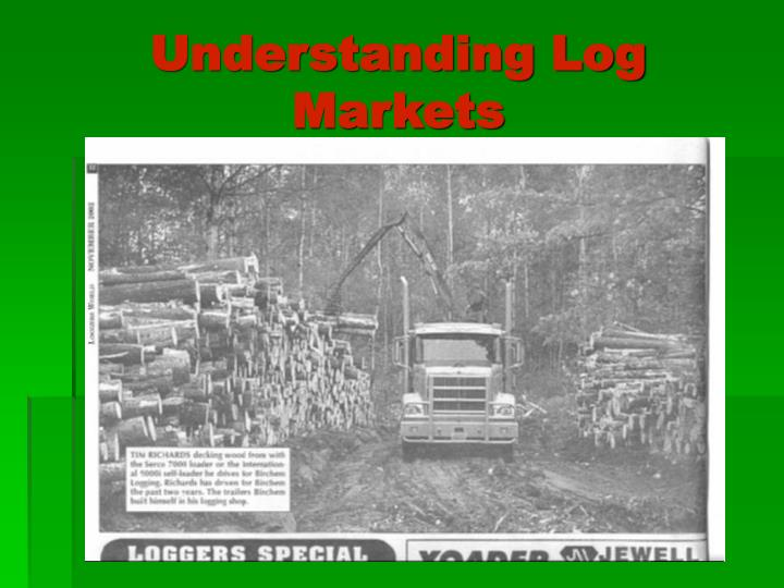 Understanding Log Markets