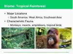 biome tropical rainforest1