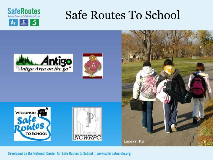 safe routes to school n.