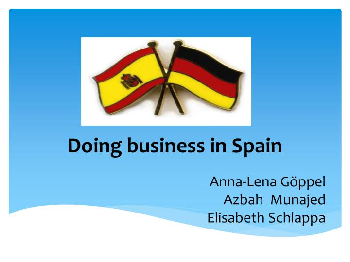 doing business in spain n.
