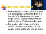 ethnicity and crime1