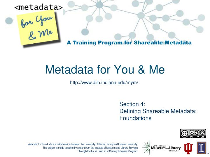 metadata for you me n.