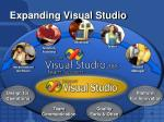 expanding visual studio