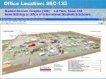 office location ssc 133