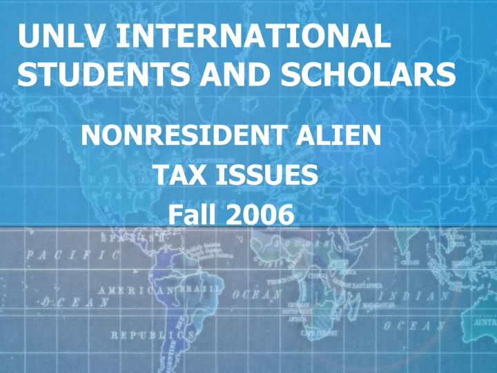 unlv international students and scholars n.