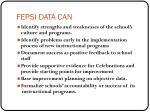 fepsi data can