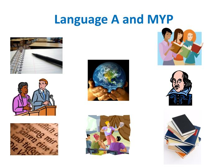 language a and myp n.