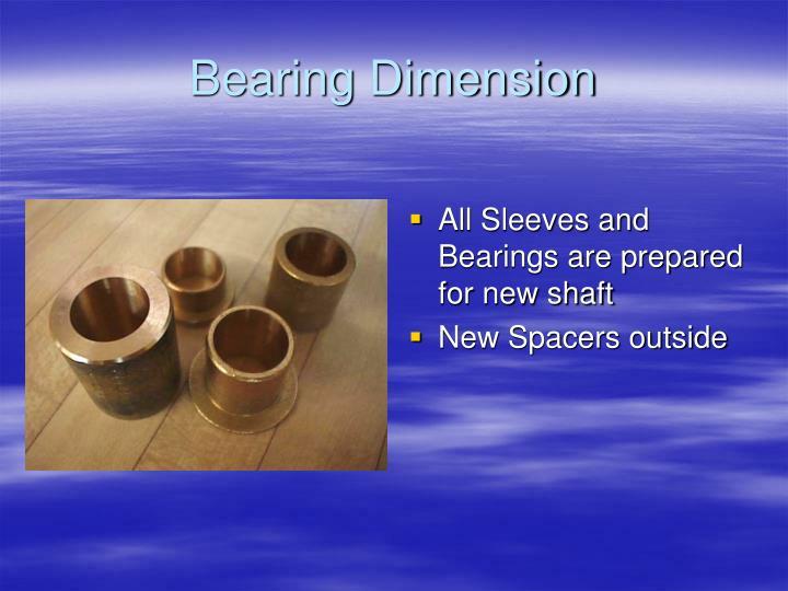 Bearing Dimension