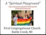 first congregational church battle creek mi