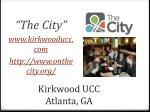 kirkwood ucc atlanta ga