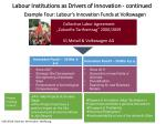 example four labour s innovation funds at volkswagen