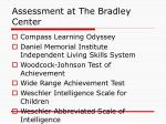 assessment at the bradley center