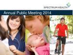 annual public meeting 2014
