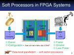 soft processors in fpga systems