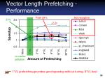 vector length prefetching performance