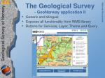 the geological survey geonorway application ii