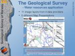 the geological survey water resources application