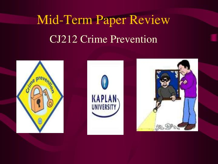 mid term paper review n.
