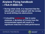 airplane flying handbook faa h 8083 3a1