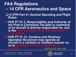 faa regulations 14 cfr aeronautics and space