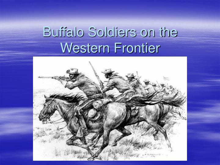 buffalo soldiers on the western frontier n.