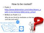 how to be rooted1