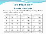 two phase flow example 1 description1