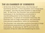 the us chamber of commerce