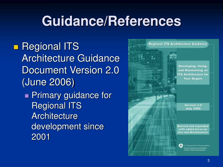 Guidance references
