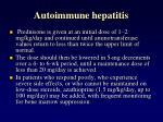 autoimmune hepatitis1