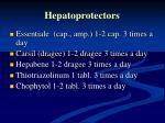 hepatoprotectors