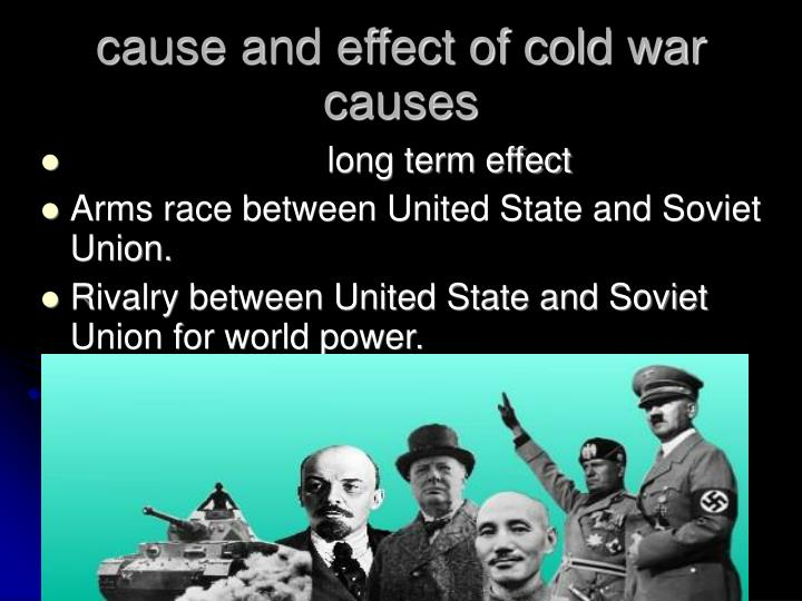 affect of the cold war in