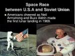 space race between u s a and soviet union1