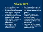what is abpp