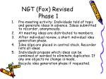 ngt fox revised phase 1