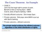 the coase theorem an example3