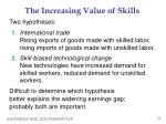 the increasing value of skills1