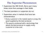 the superstar phenomenon