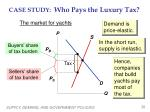 case study who pays the luxury tax1