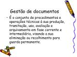 gest o de documentos