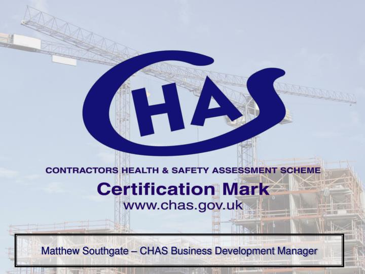 matthew southgate chas business development manager n.
