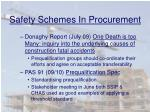 safety schemes in procurement1