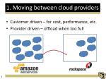 1 moving between cloud providers
