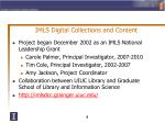 imls digital collections and content
