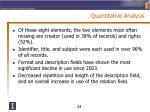 quantitative analysis3